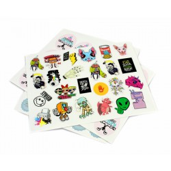 Stickers personalizados carta